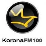 Logo da emissora Korona 100 FM