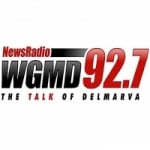 Logo da emissora Radio WGMD 92.7 FM