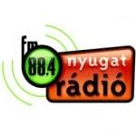 Logo da emissora Nyugat Radio 88.4 FM