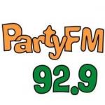 Logo da emissora Party 92.9 FM