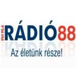 Logo da emissora Radio 88 95.4 FM