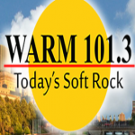 Logo da emissora WRMM WARM 101.3 FM