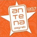 Logo da emissora Radio Antena Zagreb 89.7 FM