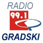 Logo da emissora Radio Gradski 99.1 FM