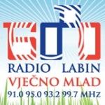 Logo da emissora Radio Labin 91 FM
