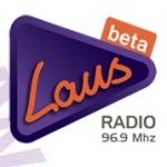 Logo da emissora Radio Laus 96.9 FM