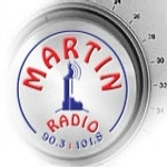 Logo da emissora Radio Martin 101.8 FM