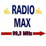 Logo da emissora Radio Max 99.3 FM
