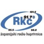 Logo da emissora Radio RKC Koprivnica 91.7 FM