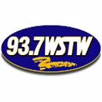 Logo da emissora Radio WSTW 93.7 FM