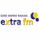 Logo da emissora Extra 97.1 FM
