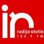 Logo da emissora Indros Radijas 103.9 FM