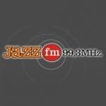 Logo da emissora Jazz 99.3 FM
