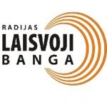 Logo da emissora Laisvoji Banga 104.7 FM