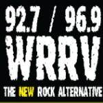 Logo da emissora WRRV 92.7 FM