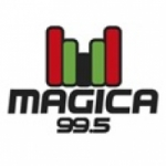 Logo da emissora Radio Mágica 99.5 FM