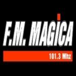 Logo da emissora Radio M�gica 101.3 FM