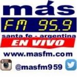 Logo da emissora Radio Más 95.9 FM