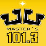 Logo da emissora Radio Masters 101.3 FM