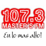 Logo da emissora Radio Master's 107.3 FM