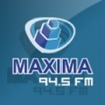Logo da emissora Radio Máxima 94.5 FM