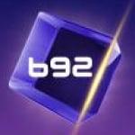 Logo da emissora B92 FM