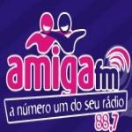 Logo da emissora Rádio Amiga 88.7 FM