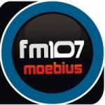 Logo da emissora Radio Moebius 107.1 FM