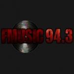 Logo da emissora Radio Music 94.3 FM