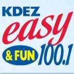 Logo da emissora Radio KDEZ 100.1 FM