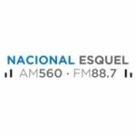 Logo da emissora Radio Nacional 560 AM 88.7 FM
