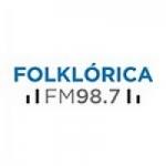 Logo da emissora Radio Nacional Folklórica 98.7 FM