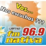 Logo da emissora Radio Nativa 96.9 FM