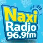 Logo da emissora Naxi Radio 96.9 FM
