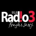 Logo da emissora Tri 95.8 FM