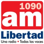 Logo da emissora Radio Libertad 1090 AM