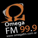 Logo da emissora Radio Omega 99.9 FM