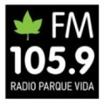 Logo da emissora Radio Parque Vida 105.9 FM