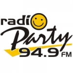 Logo da emissora Radio Party 94.9 FM