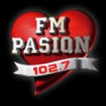 Logo da emissora Radio Pasion 102.7 FM