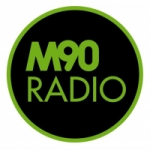 Logo da emissora Radio M90 89.9 FM