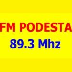 Logo da emissora Radio Podesta 89.3 FM