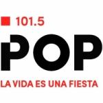 Logo da emissora Radio Pop 101.5 FM
