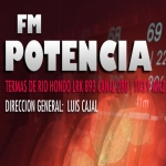 Logo da emissora Radio Potencia 103.9 FM