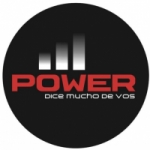 Logo da emissora Radio Power 103.7 FM
