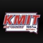 Logo da emissora KMIT 105.9 FM