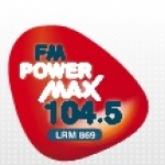 Logo da emissora Radio Power Max 104.5 FM