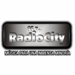Logo da emissora Radio City 95.7 FM