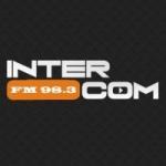 Logo da emissora Radio InterCom 98.3 FM