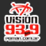 Logo da emissora Radio Visi�n 93.9 FM